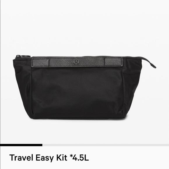 lululemon athletica Handbags - Travel easy kit 4.5L